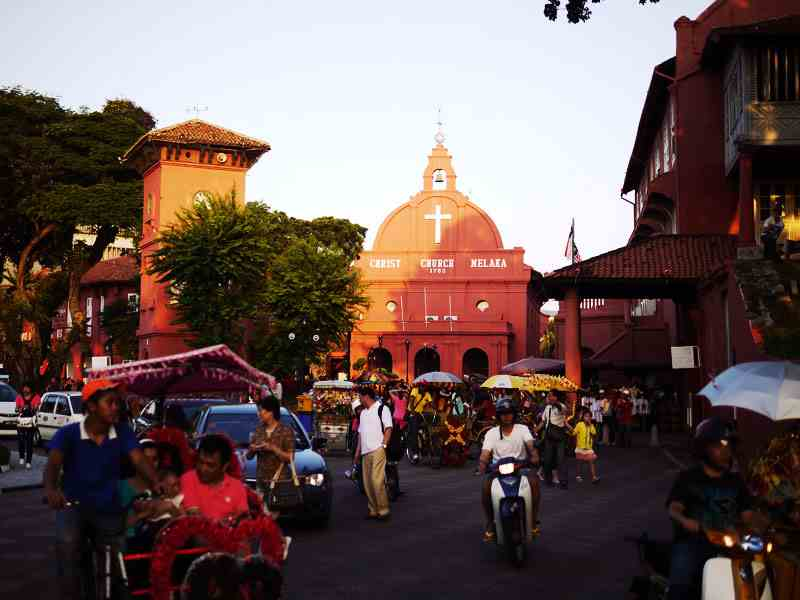 Christ Church at the Dutch Square Malacca