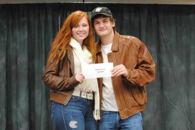 3rd Place Winners Emily Wood & Brad Steel