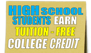 High School Students Earn Tuition Free College Credit