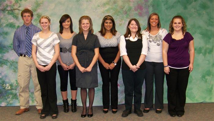 NTHS 2011 Inductees