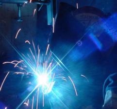 bight blue sparks