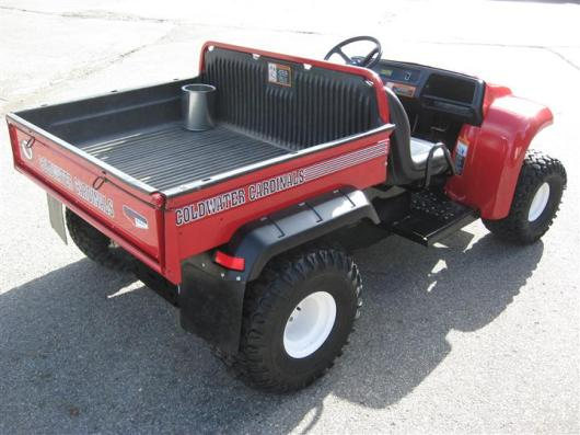 red golf cart project