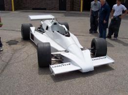 Scott Brayton Indycar project, white car
