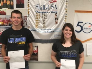EAET Students Earn Scholarship to LSSU