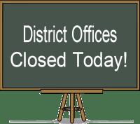 Buildings Closed Chalkboard