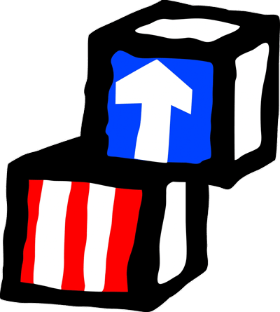 Head Start Red and Blue Blocks