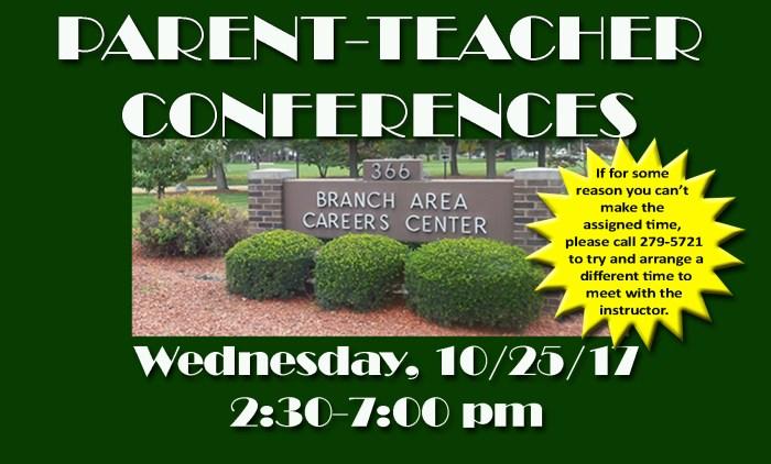 Parent Teacher Conferences 10/25/17