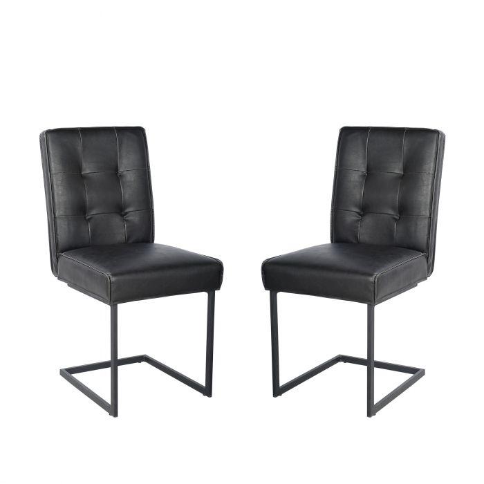chaises de cuisine primo dinch 8028 noir
