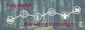 What are the six key elements of a successful marketing campaign?