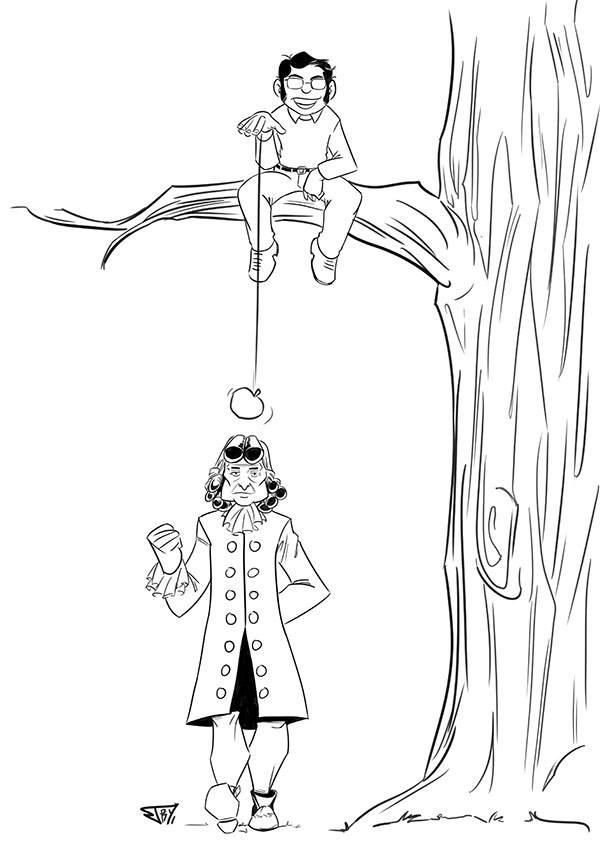 Les dessins-hommages à Gotlib, d'une coccinelle à une