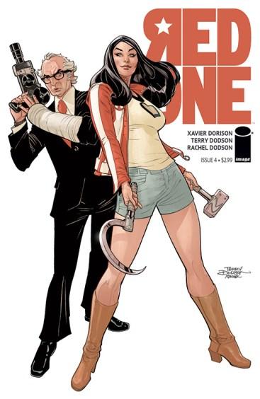Red Skin - Xavier Dorison - Terry Dodson - Rachel Dodson - tome 2 - Jacky - couverture comics