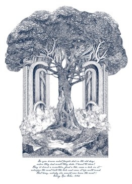 Tree of Secrets - Lucille Clerc https://printclublondon.com/shop/tree-of-secrets/