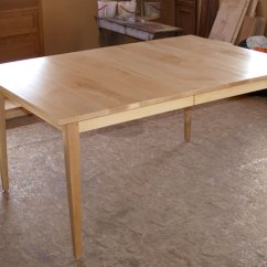 Maple Kitchen Table Sizes Shaker Extendable Dining Branch Hill Joinery