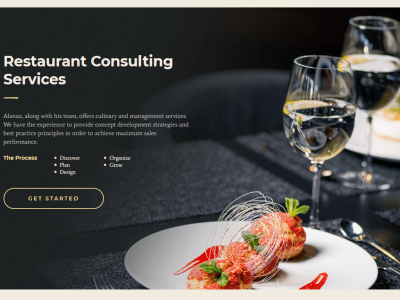 Alanzo - Personal Chef & Wedding Catering Event WordPress Theme 2