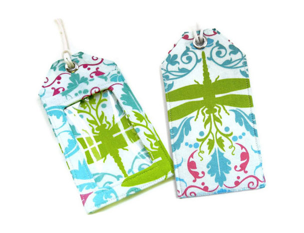 Garden of Delights Luggage Tags