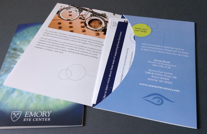 Emory Eye Center Marketing Brochure