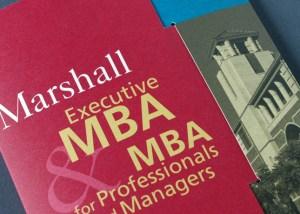 USC Marshall School of Business Brochure