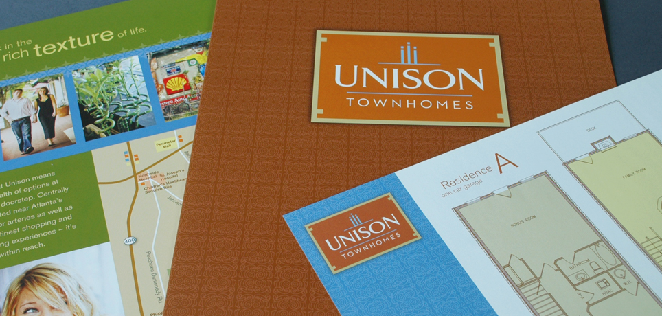 Unison Townhomes Marketing Package