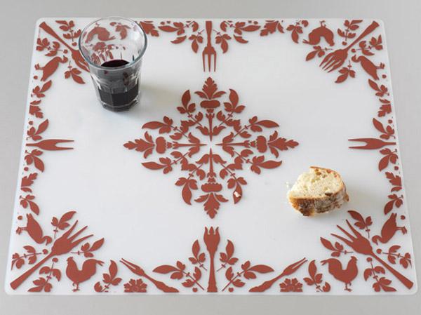 Brand Bird Dinner Damask Pattern for Modern-Twist