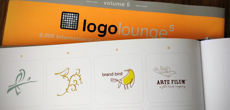 brand bird logo featured in logo lounge 5