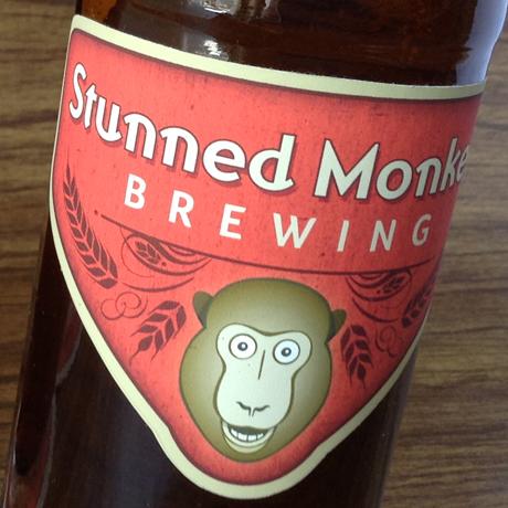 stunned monkey brewing brand identity