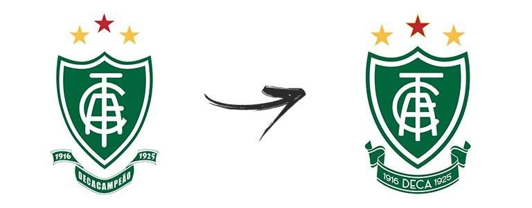 Os Clubes Que Mudam Seus Escudos Brand Bola