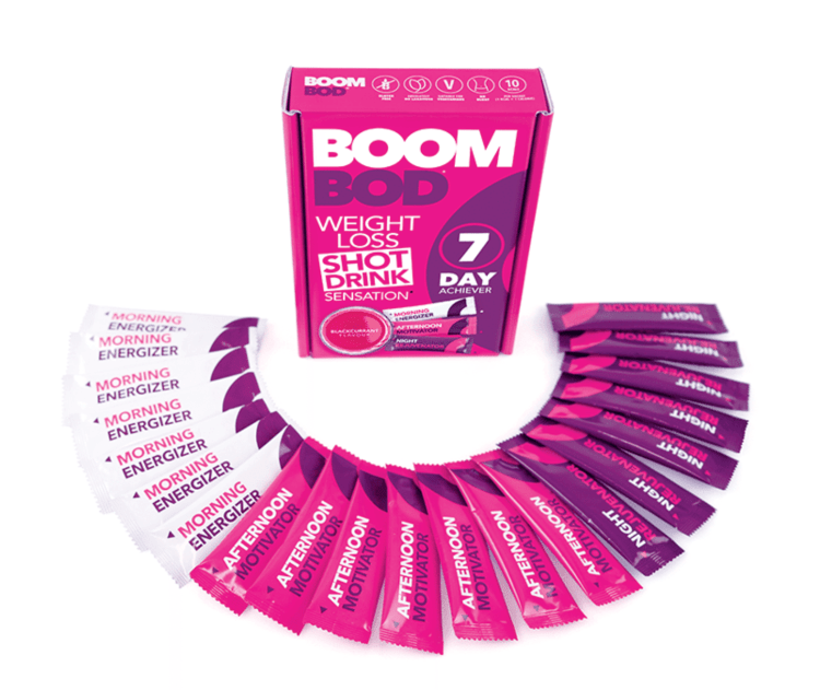 BoomBod 7 Day Achiever Pack & Shots