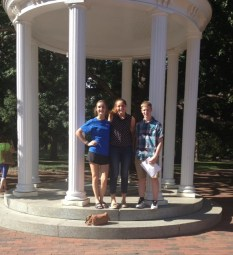 Students at UNC Chapel Hill