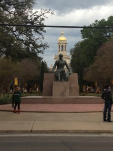 April trip to Baylor