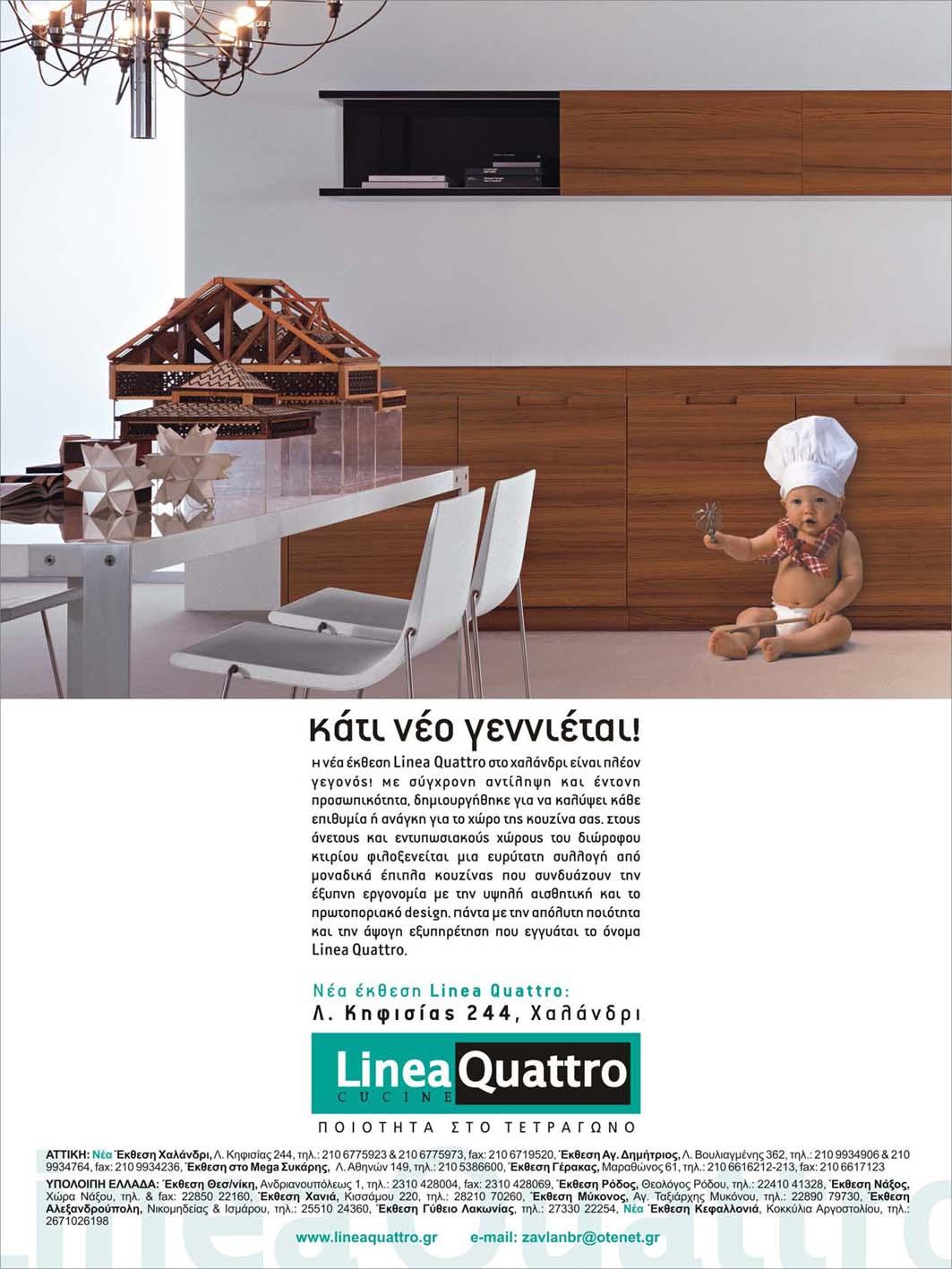 Cucine Linea Quattro | Cucina A Gas Professionale 4 Fuochi