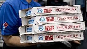 Competitive advantage dominos hot spot campaign picture of pizza boxes