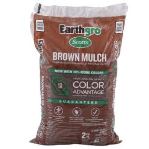 Scotts Earthgrow Brown Mulch