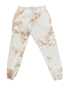 Tan Tie-Dye Sweatpants