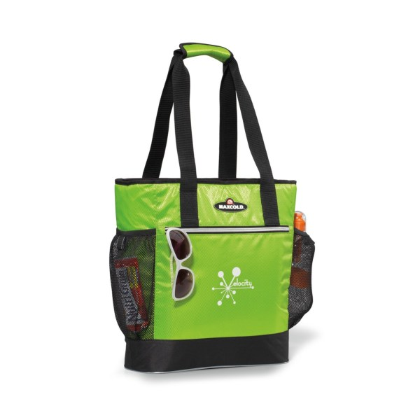 Igloo Maxcold Insulated Cooler Tote Green-black Branded Coolers
