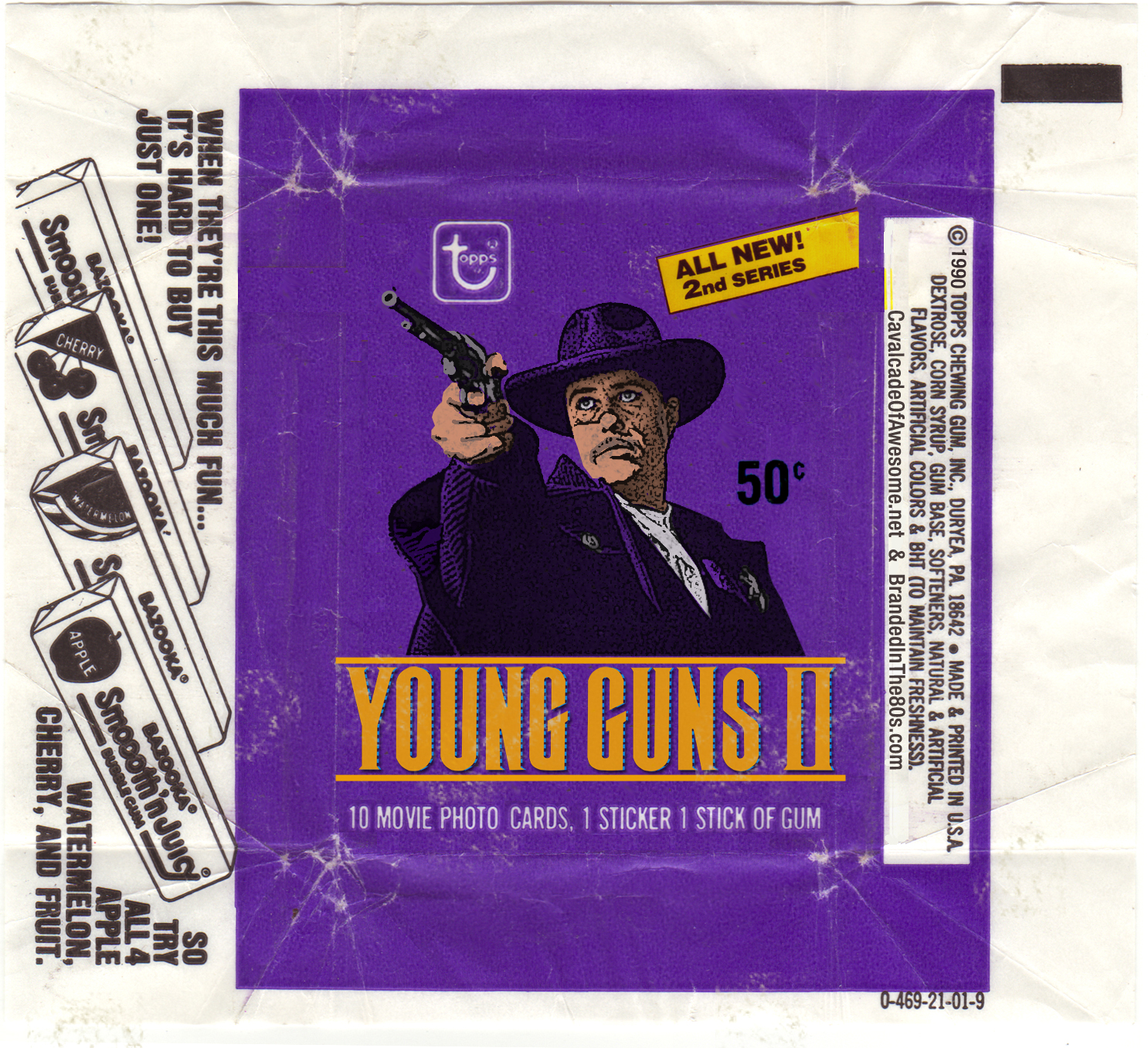 YG2 wax wrapper 2
