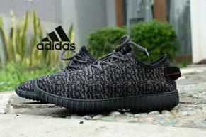 BA0063 Black Adidas Yezzy Boost Lady - Rp. 250000