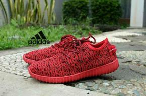 BA0065 Red Adidas Yezzy Boost Lady - Rp. 250000
