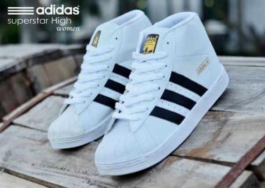 BA0176 Adidas Superstar High Women 3 - Rp. 210000