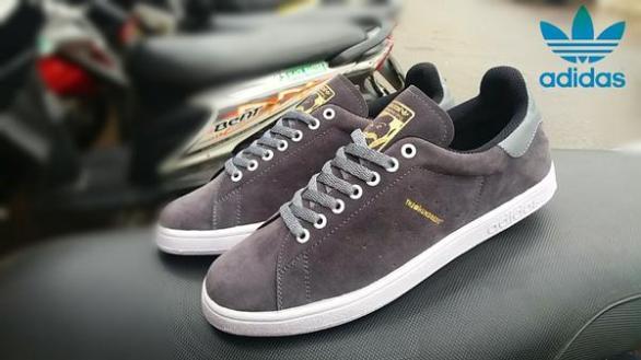BA0385 Gray Adidas The Hundreds Suede - Rp. 200000