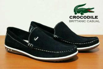 BC0070 Black Crocodile Brittanic Suede - Rp. 190000