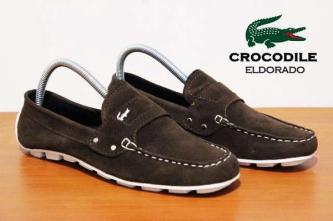 BC0074 Brown Crocodile Eldorado Suede Casual Rp. 170000