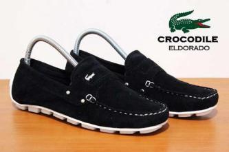 BC0076 Black Crocodile Eldorado Suede Casual Rp. 170000