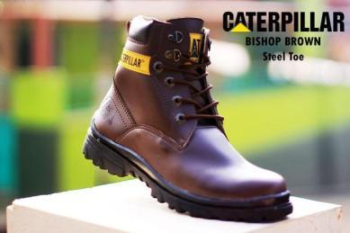 BC0230 Brown Caterpillar Bishop Boot - Rp. 220000