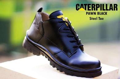 BC0237 Black Caterpillar Pawn Boot - Rp. 220000