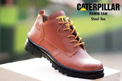 BC0239 Tan Caterpillar Pawn Boot - Rp. 220000