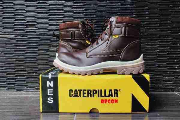 BC0372 Brown Caterpillar Recon Steel Toe - Rp. 210000