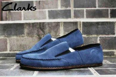BC0403 Navy Clarks Slip On Venice Suede Mercy - Rp. 220000