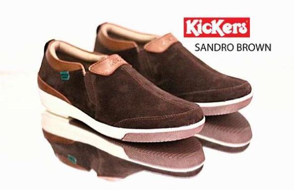 BK0005 Kickers Sandro Brown Rp. 190000