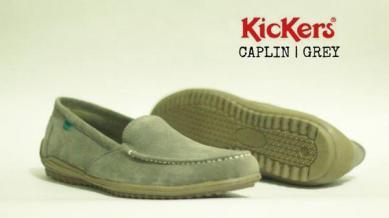 BK0424 Gray Kickers Slip On Chaplin - Rp. 170000