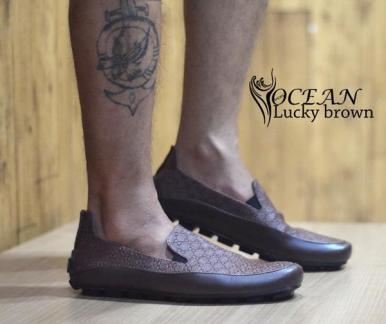 BO0358 Brown Ocean Slip On Lucky Authentic - Rp. 190000